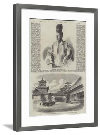 A Visit to the Tycoon of Japan--Framed Giclee Print