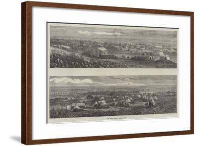 The South African Diamond-Fields--Framed Giclee Print