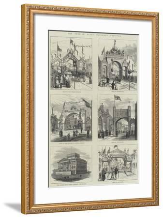 The Preston Guild Merchant Festival--Framed Giclee Print