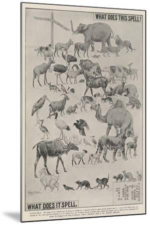 Advertisement, Ellimans Embrocation--Mounted Giclee Print