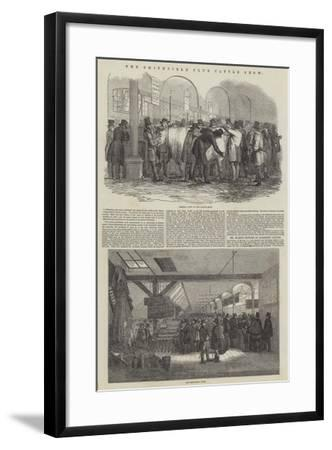 The Smithfield Club Cattle Show--Framed Giclee Print