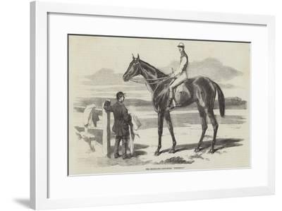 The Celebrated Race-Horse Fisherman--Framed Giclee Print