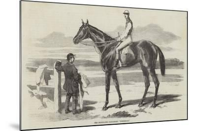 The Celebrated Race-Horse Fisherman--Mounted Giclee Print