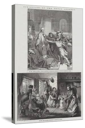 Exhibition of the Royal Academy--Stretched Canvas Print