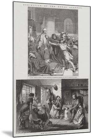 Exhibition of the Royal Academy--Mounted Giclee Print