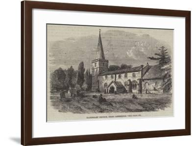 Madingley Church, Near Cambridge--Framed Giclee Print