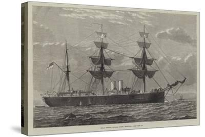 HMS Nelson, Double Screw, Ironclad--Stretched Canvas Print