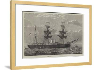HMS Nelson, Double Screw, Ironclad--Framed Giclee Print