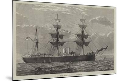 HMS Nelson, Double Screw, Ironclad--Mounted Giclee Print