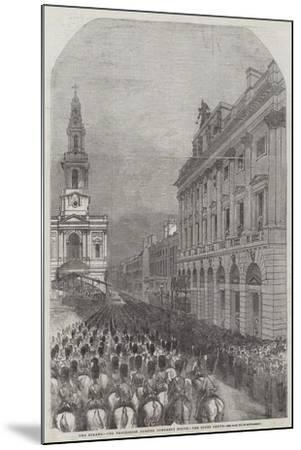 Funeral of the Duke of Wellington--Mounted Giclee Print