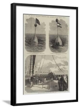 The Atlantic Telegraph Expedition--Framed Giclee Print