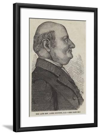 The Late Reverend Jabez Bunting--Framed Giclee Print