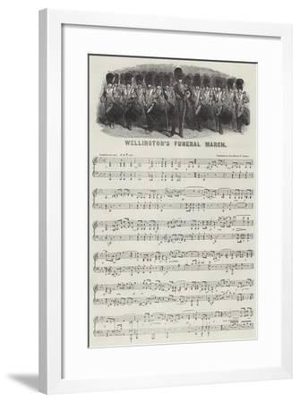 Wellington's Funeral March--Framed Giclee Print
