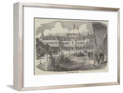 The Hotel Brighton, Boulogne--Framed Giclee Print
