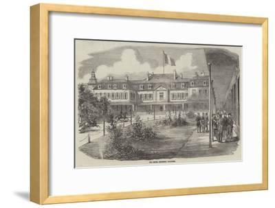 The Hotel Brighton, Boulogne--Framed Giclee Print
