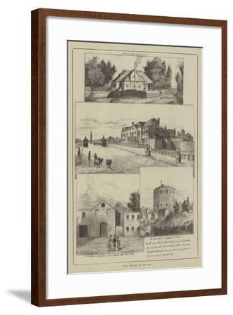Some Theatres of the Past--Framed Giclee Print