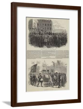French Revolution of 1848--Framed Giclee Print