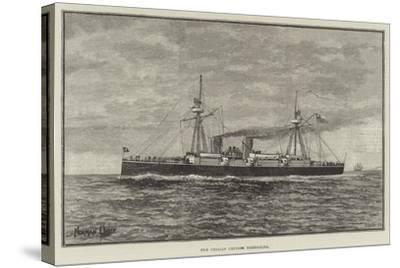 The Chilian Cruiser Esmeralda--Stretched Canvas Print