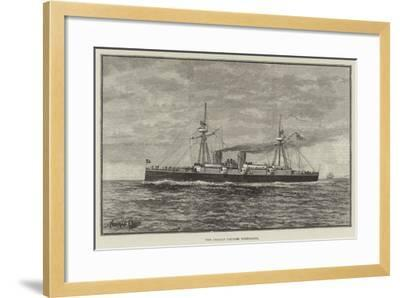 The Chilian Cruiser Esmeralda--Framed Giclee Print