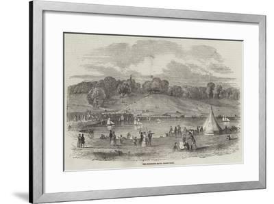 The Highgate Model Yacht Club--Framed Giclee Print