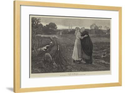 Good-Bye, God Bless You!--Framed Giclee Print