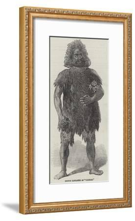 Signor Lablache as Caliban--Framed Giclee Print