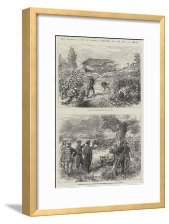 The Austrian Army in Bosnia--Framed Giclee Print