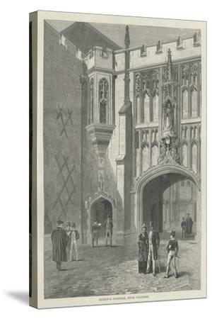 Queen's Schools, Eton College--Stretched Canvas Print