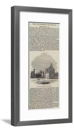 Ruins at Minster Lovel, Oxon--Framed Giclee Print