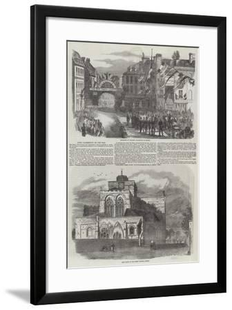 Lord Palmerston on the War--Framed Giclee Print