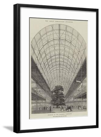The Great Exhibition Building--Framed Giclee Print