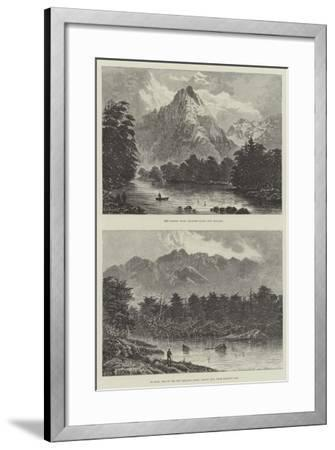 Sketches of New Zealand--Framed Giclee Print