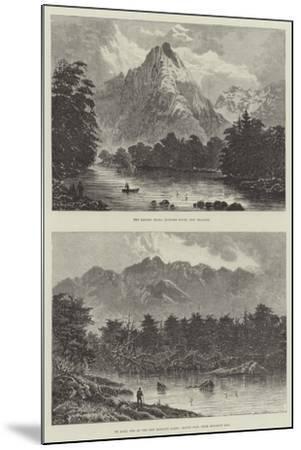 Sketches of New Zealand--Mounted Giclee Print