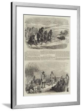 Sketches of Balaclava--Framed Giclee Print