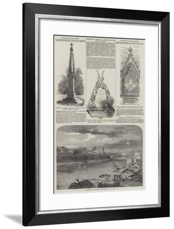 The War in the Crimea--Framed Giclee Print