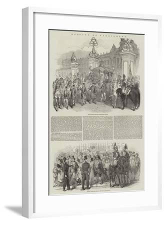Opening of Parliament--Framed Giclee Print