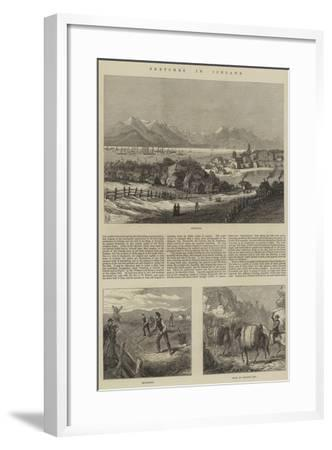 Sketches in Iceland--Framed Giclee Print