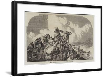 The Relief of Lucknow--Framed Giclee Print