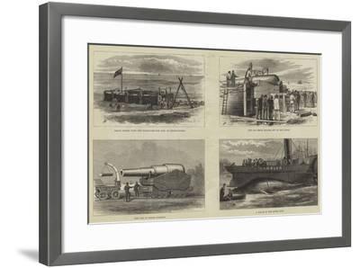 The Eighty-One Ton Gun--Framed Giclee Print