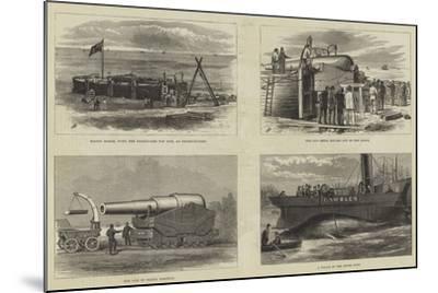 The Eighty-One Ton Gun--Mounted Giclee Print