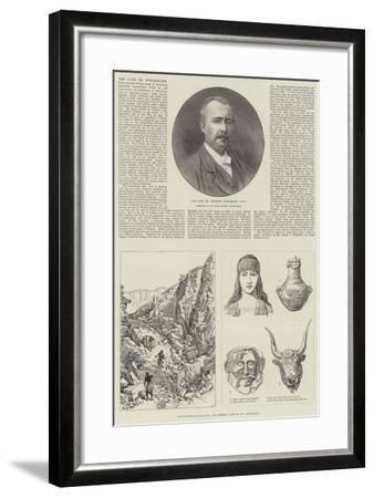 The Late Dr Schliemann--Framed Giclee Print
