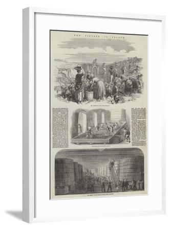 The Vintage in France--Framed Giclee Print