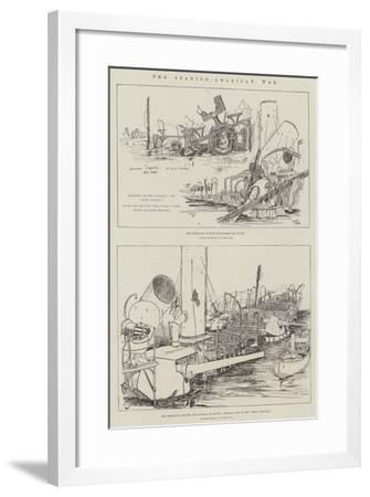 The Spanish-American War--Framed Giclee Print