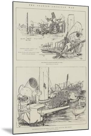 The Spanish-American War--Mounted Giclee Print