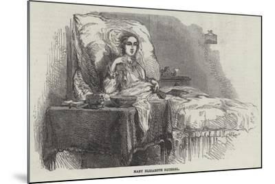 Mary Elizabeth Squirrel--Mounted Giclee Print