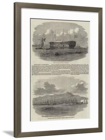 The Siege of Sebastopol--Framed Giclee Print