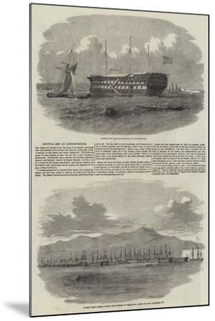 The Siege of Sebastopol--Mounted Giclee Print