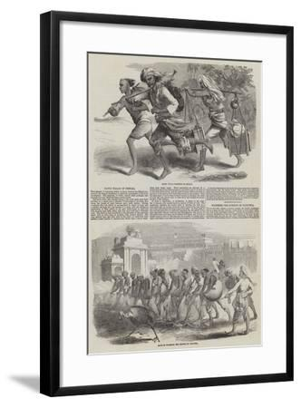 Sketches of Calcutta--Framed Giclee Print