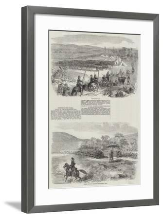 Sketches in the Crimea--Framed Giclee Print