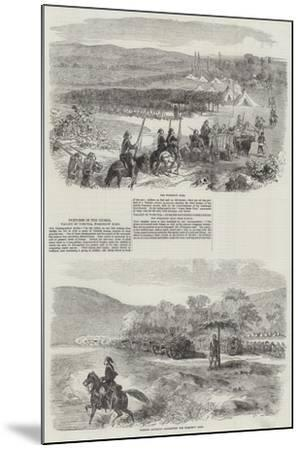 Sketches in the Crimea--Mounted Giclee Print